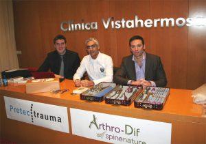 Aleix Llorens, Dr. Ferrández y Jean Charles Roussouly